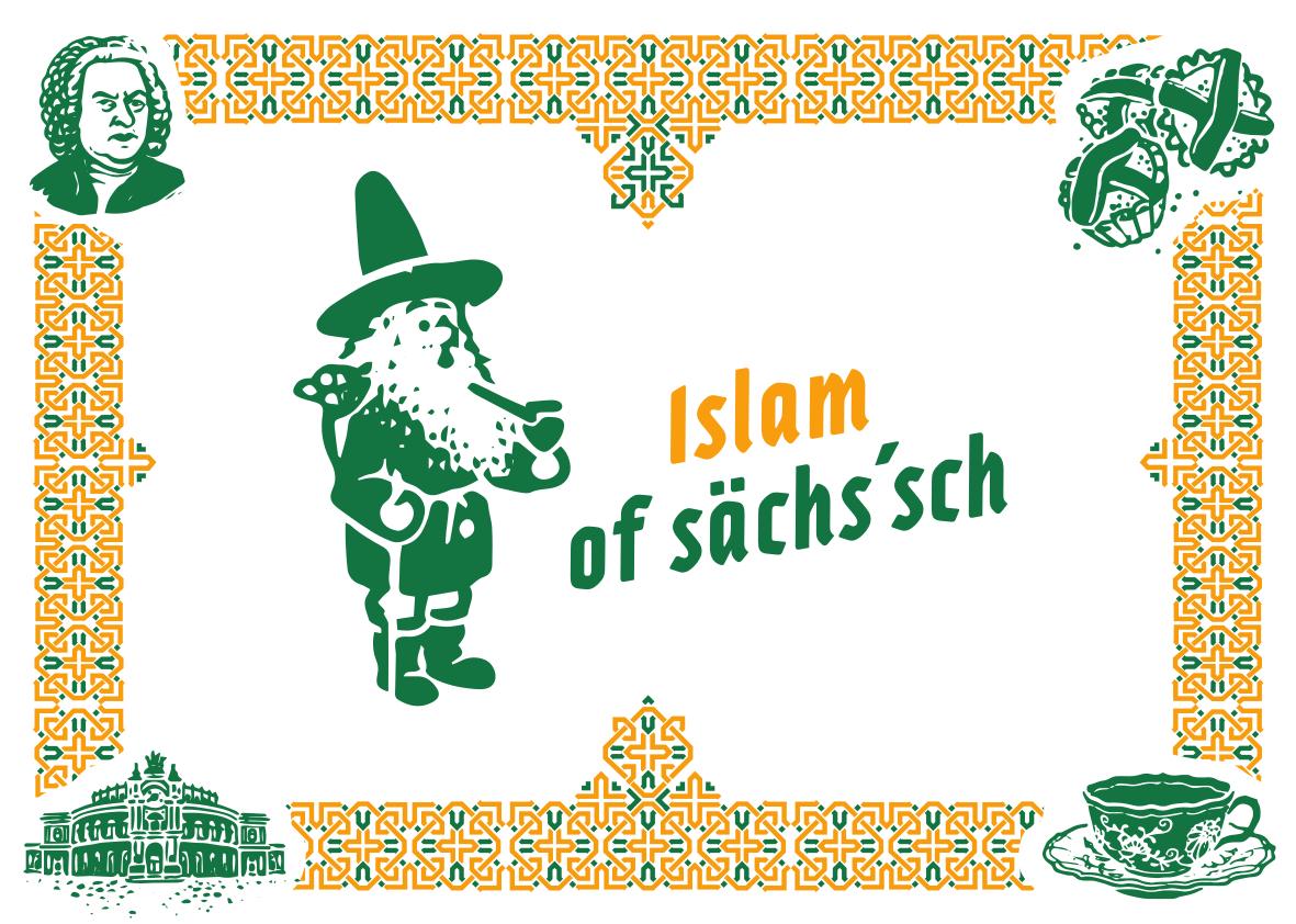 Logo zum Projekt Islam auf Sächsisch